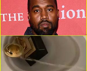 <>Kanye West urinating